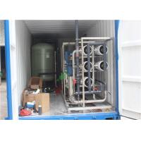 Buy cheap 14T RO Water Plant With Container For Denmark Customer from wholesalers
