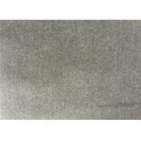 Mid - Grey Color Melton Wool Fabric For Women'S / Men'S Coat Hongmao