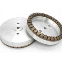 Buy cheap Glass Edge Use Metal Bond Grinding Wheels , Full Segmented Diamond Cup Grinding Disc from wholesalers