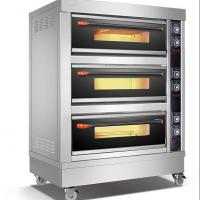 Buy cheap 3 Deck Oven 6 Pan Commercial Conveyor Electric Pizza Oven For Bakeries from wholesalers