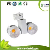Buy cheap 110v/230vAC 100lm/w CRI>82 2*30W LED COB Tracklight from wholesalers