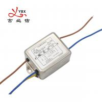 Buy cheap 10A Electrical Power Line Filters For Medical Equipment Low Leakage Current from wholesalers