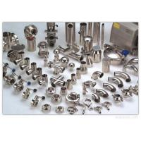 Buy cheap Food Grade Stainless Steel Pipe Fittings Tee Reducer Elbow Tri Clamp Sanitary Fittings from wholesalers
