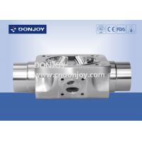 Buy cheap sanitary multiport valve round steel body for beverage process and fluid control from wholesalers