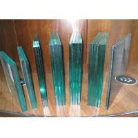 Buy cheap Bullet Proof Laminated Security Glass / Clear Laminated Glass For Bank from wholesalers