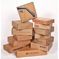 Buy cheap Waterproof Cardboard Mailing Boxes , Custom Packing Boxes With Recycled Materials from wholesalers