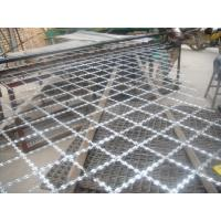 Buy cheap Stainless Steel Concertina Razor Barbed Wire , Welded Wire Fabric For Frontier from wholesalers