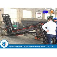 Buy cheap Large Steep Angle Fertilizer Conveyor Belt with 10 -12 Ton / Hour Capacity from wholesalers