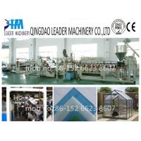 Buy cheap with UV coating  polycarbonate pc solid/embossed sheet making machine from wholesalers