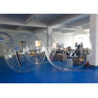 Buy cheap TPU / PVC Large Inflatable Games , Clear Water Walking Bubble Ball from wholesalers