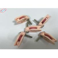 Buy cheap Wire Guide Jumper QH003 steel ball M4 screw Dia Caged Ceramic Pulley product