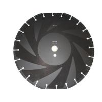 Buy cheap Vacuum Brazed Diamond Saw Blades / Diamond Disc Cutter Blades For Fire Fighting from wholesalers