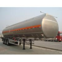 Buy cheap ADR / ISO Certificate Approved 38cbm Oil Tanker 3 Axle Transport Fuel Tank Trailer Water Storage from wholesalers
