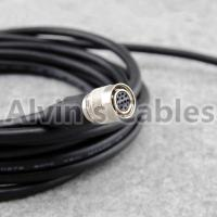 Alvins Cables M12 8 Pin to RJ45 Ethernet Cable for Cognex