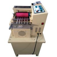 Buy cheap Elastic band, webbing, safety belt, luggage belt cutting machine from wholesalers