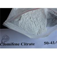 Buy cheap Anti Estrogen Clomiphene Clomid White Crystalline Powder For Bulking Cycle from wholesalers