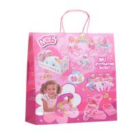 Buy cheap Twisted Handle Custom Printed Paper Bags Chrismas C2S Coated CMYK Reusable from wholesalers