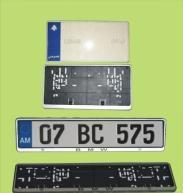 Buy cheap European License Plate Frame from wholesalers