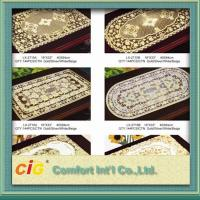 Buy cheap Rectangle square Table Mats Design Vinyl Table Cloth 0.08mm - 0.30mm Thickness product