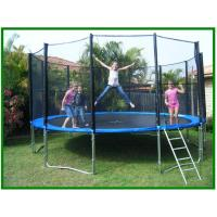 Buy cheap 8ft 10ft Outdoor Bungee Big Jump Trampoline with enclosure / childrens trampoline from wholesalers