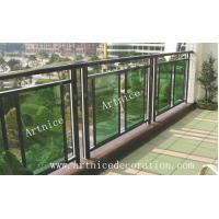 Buy cheap Tempered / toughened glass for balcony  fence, balcony railing,terrace fence, terrace fence from wholesalers