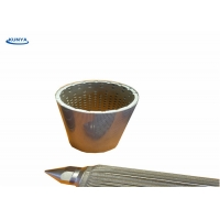 Buy cheap 10 Micron Liquid Basket Strainer Filter Ss Sintered Cartridge 316L Oil from wholesalers