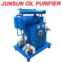 Buy cheap Small Flowrate High Quality Single-Stage Vacuum Transformer Oil Purifier Machine with Moderate Price from wholesalers