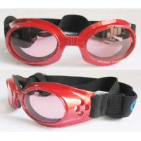 Buy cheap 100% UV Dog Goggles With Adjustable Straps from wholesalers