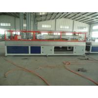 China PE PP WPC Wall Panel / Decking Plastic Profile Production Line on sale