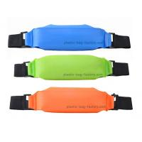 Buy cheap Colorful TPU Waterproof Sports Bag , Dry Bag Waist Pack For Mobile Phone / Camera from wholesalers