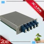 Buy cheap 8Ch Mux / Demux DWDM Card Fiber Optic DWDM 100M to 40G Platform Low Insertion Loss from wholesalers