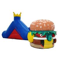 Buy cheap Hot Sale Inflatable Tunnel Maze Games In Hamburger Shape For Kids from wholesalers