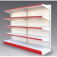 Buy cheap Corrosion Resistance Chrome Plated Supermarket Slat Wall Shelf, Steel Storage Shelving from wholesalers