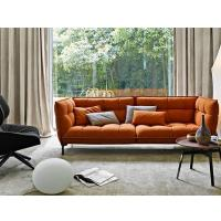 Buy cheap Large Husk Tufted Fabric Sofa Living Room Furniture With Cushion Armrest from wholesalers