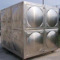 Buy cheap Hot Pressed Panel Drinking Water Storage Stainless Steel Water Tank from wholesalers