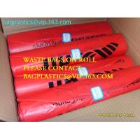 Buy cheap Roll bags with serial number, Polythene bags serial numbered, Serialized Numbers & Barcode, Safe bags, security bags pac product