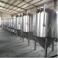 Buy cheap 1000L craft beer brewery equipment with stainless steel conical fermenters from wholesalers
