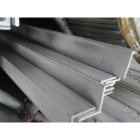 Buy cheap Cold Drawn SS Angle Iron Hairline Finished , Equal Angle Steel from wholesalers