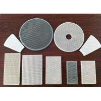 Buy cheap Cordierite Porous Various Infrared Honeycomb BBQ Ceramic Plates For Gas Burners from wholesalers