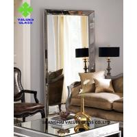 Buy cheap Modern Large Frameless Mirror , Silver Full Length Mirror With Clear Surface from wholesalers