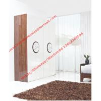 Buy cheap New Design Melamine Material Modern bedroom Custom wardrobe in fashion handle with Open door from wholesalers