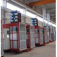 Buy cheap Double Cabin Personnel And Materials Hoist , Construction Material Lifting Hoist from wholesalers