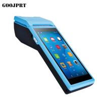 Buy cheap Handheld POS Terminal Android PDA with built in thermal Printer 1D CCD Barcode Scanner For Android Tablet Pc from wholesalers