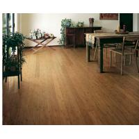 Quality Carbonized Floating Bamboo Flooring for sale