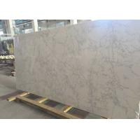 Buy cheap Kitchen / Bathroom Quartz Stone Slab 200 - 240MPa Compress Strength from wholesalers