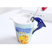 Buy cheap Dolphin 450CC Handmade 15 Oz 3D Ceramic Mugs product