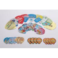 Heat Sealed Aluminium Foil Die Cut Lids For Dairy Products 8 Colors Printing