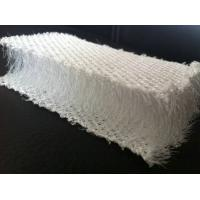 Buy cheap Breathable White Plastic 3D Mesh Fabric , Polyester Mesh Fabric For Pillow / Sofa from wholesalers