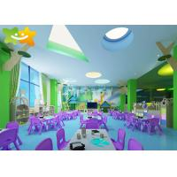 Buy cheap Preschool Classroom Furniture Sets Blue Grey Green Color Customizable from wholesalers