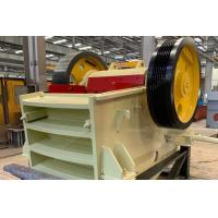 Buy cheap Long Working Life Jaw Crusher Machine Optimized Cavity Structure Easy Maintenance from wholesalers